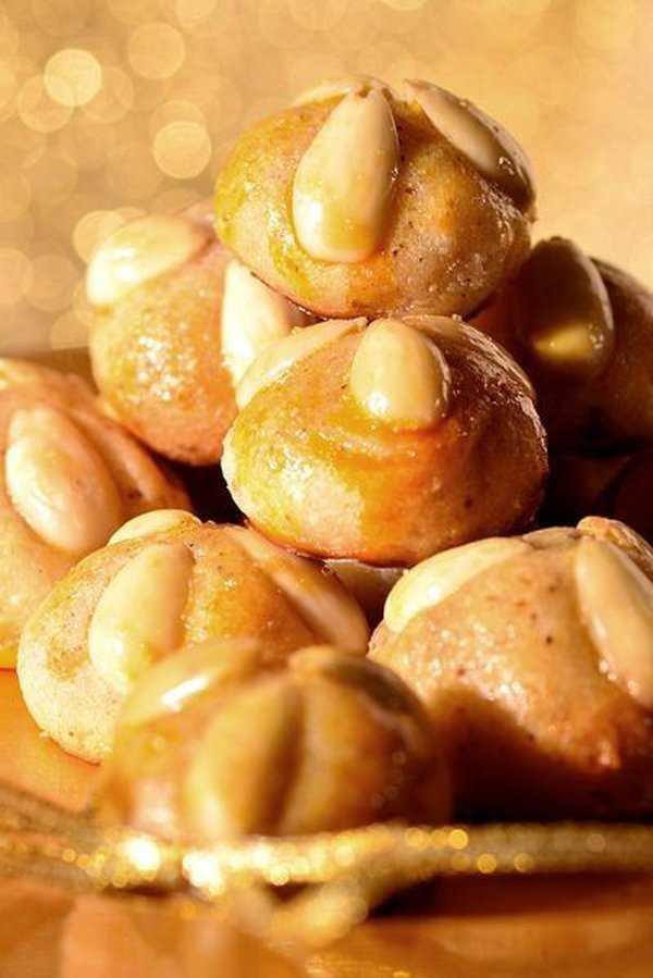 German Marzipan Cookies