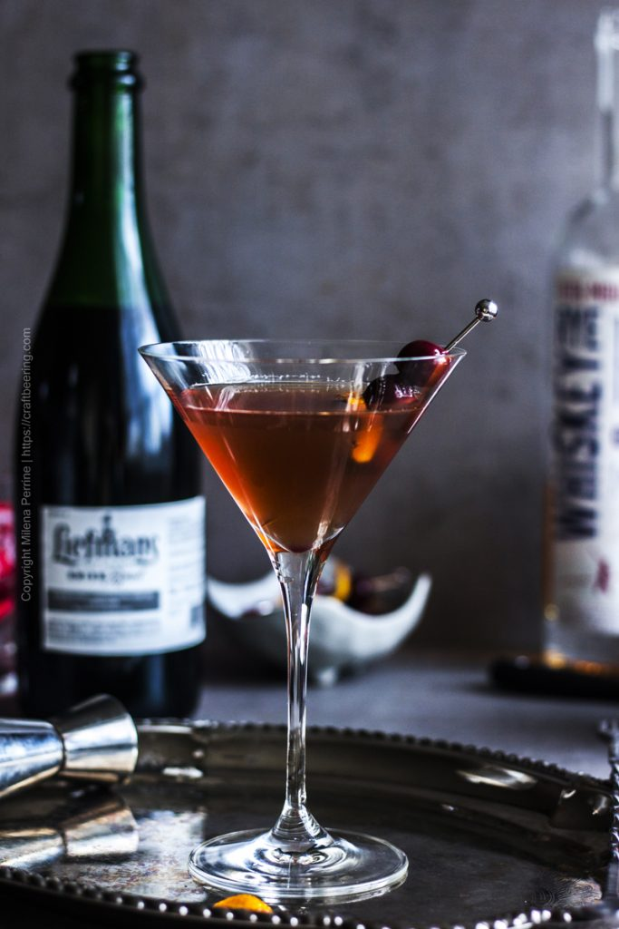 Manhattan with Kriek