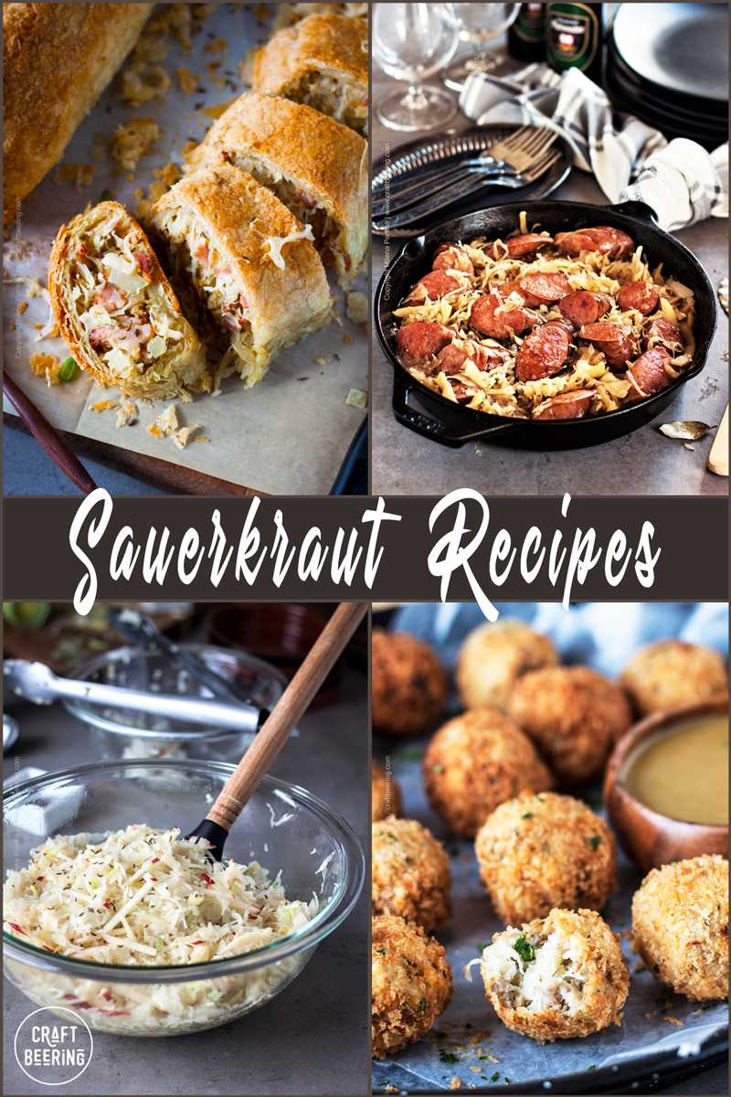 Sauerkraut recipes - how to cook with sauerkraut, multiple ways to enjoy it.