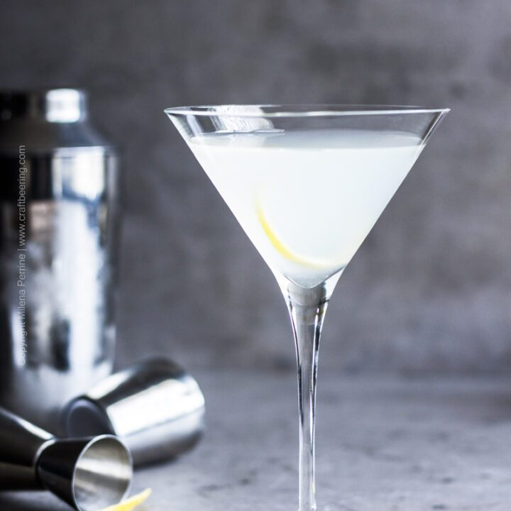 Dirty Vodka Sauerkraut Martini