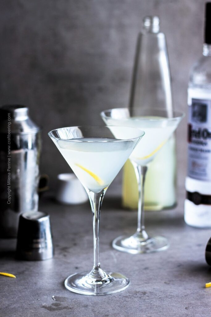 Sauerkraut Vodka Dirty Martini