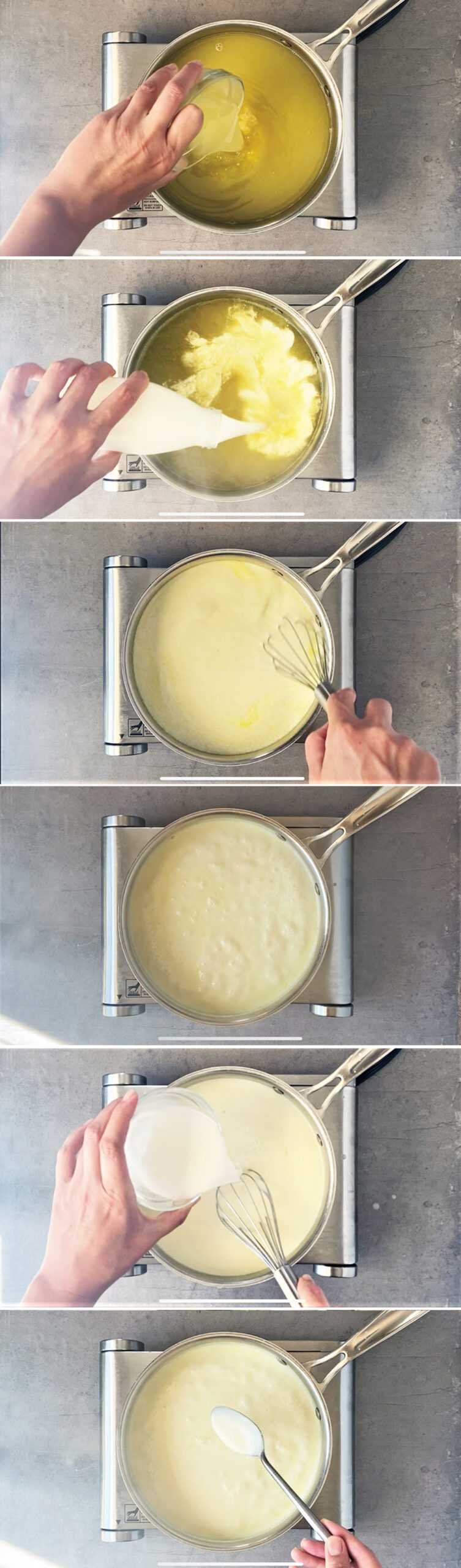 how to make creamy lemon sauce