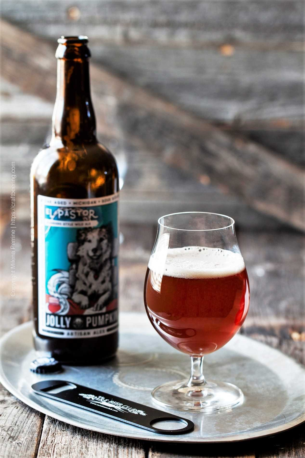 El Pastor wild ale, brewed exclusively for the members of the Rare Beer Club.