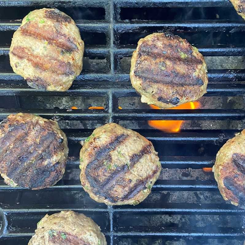 Grill over direct heat