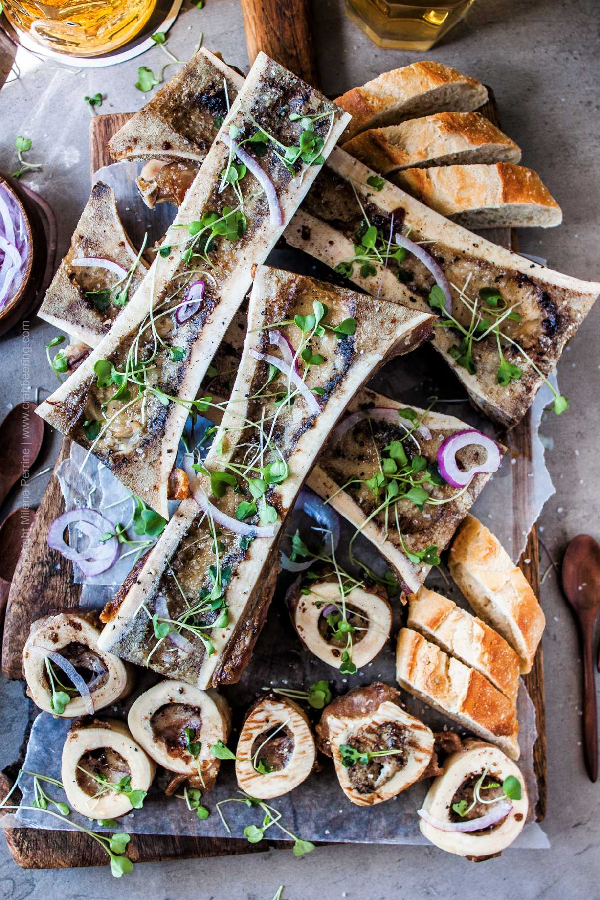 Roasted Beef Marrow Bones