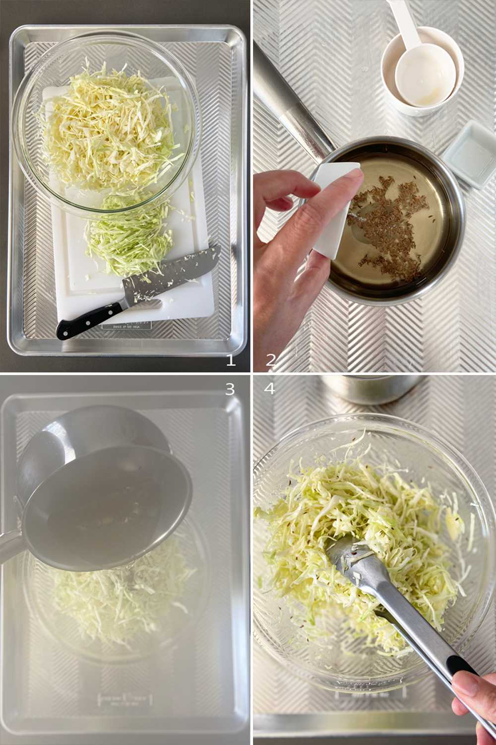 How to make German coleslaw (part 1)