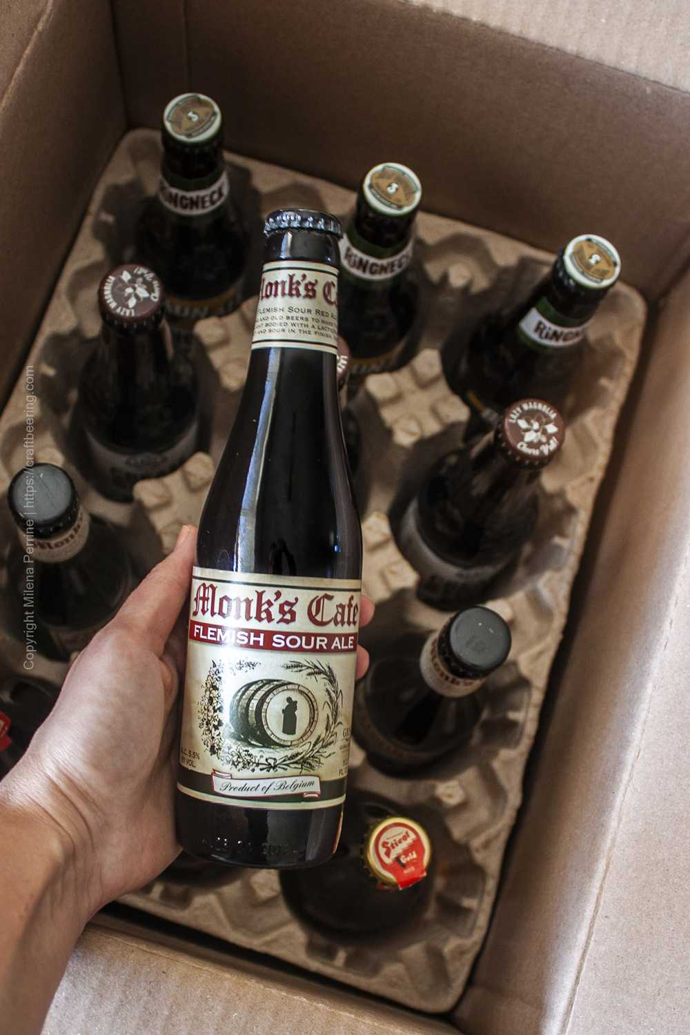 International beer club subscription - micro-brews from around the world with available US inclusions option.