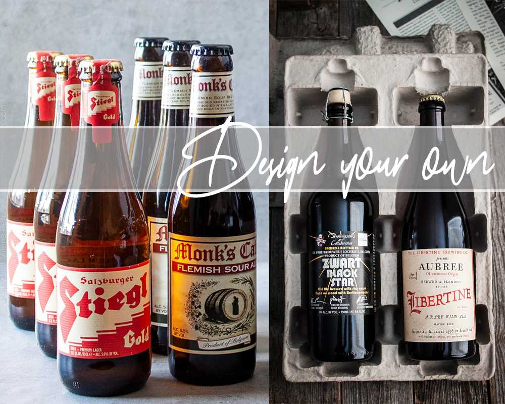 Design your own craft beer subscription box - one of the top beer subscription boxes available.