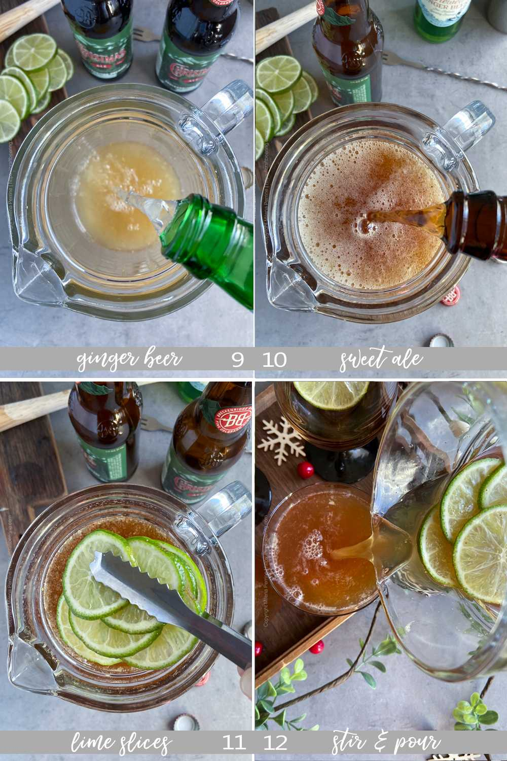 How to make beer punch with ginger beer and spiced ale - part 3