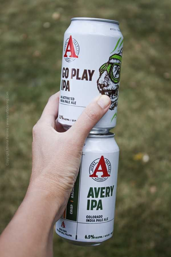 IPA cans Avery Brewing