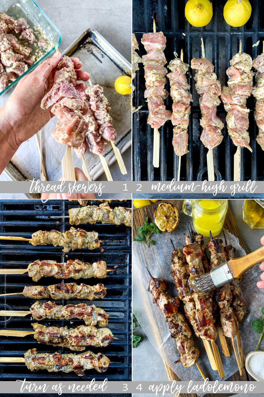 How to cook pork souvlaki