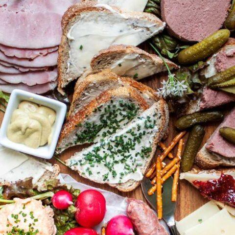 Butterbrot German Sandwich & Brotzeit